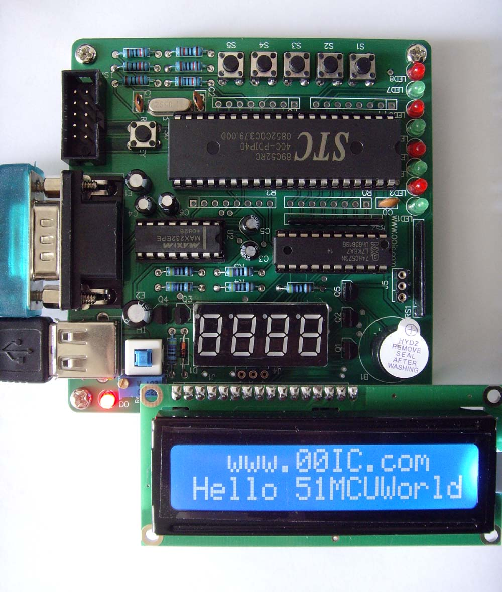 流水灯和跑马灯;按键在电路中主要充当输入设备的